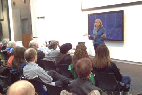 A presentation to Sierra Club members